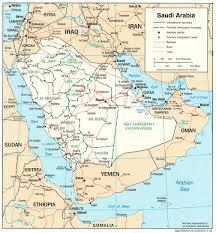 Map Of Saudia Arabia