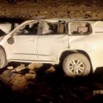 Three dead in Taima accident