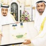 Arab Parliament honors King Salman