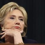 Hillary Clinton calls Republican's impeachment vow 'pathetic'