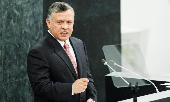 Jordan's King Abdullah.