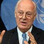 U.N. Syria envoy heads to Saudi Arabia, Iran